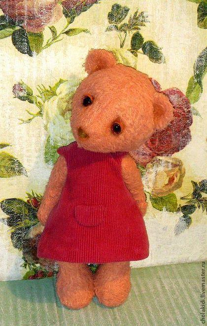 Мишки Тедди ручной работы. Ярмарка Мастеров - ручная работа Дучи сладкая девочка. Handmade.