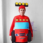 Одежда handmade. Livemaster - original item Blaze - Monster Machine. Animator-actor suit. Handmade.