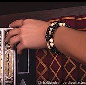 Украшения handmade. Livemaster - original item Bracelet made of Baltic amber. Handmade.