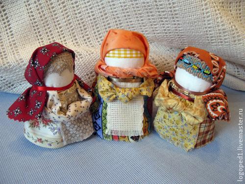 Народные куклы ручной работы. Ярмарка Мастеров - ручная работа. Купить Дарёха с камушком (народная кукла). Handmade. Народная кукла