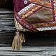 """Женские сумки ручной работы. Ярмарка Мастеров - ручная работа. Купить Сумка из гобелена """"Уютная"""". Handmade. Бордовый, объемная сумка"""