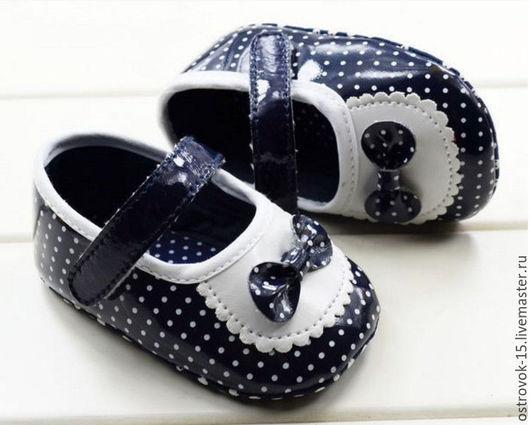 Одежда для кукол ручной работы. Ярмарка Мастеров - ручная работа. Купить Туфельки для кукол. Handmade. Чёрно-белый, обувь для игрушек