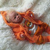 """Комплекты одежды ручной работы. Ярмарка Мастеров - ручная работа """"Оранжевый лев""""- комплект для малыша. Handmade."""