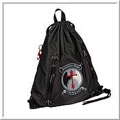 Сумки и аксессуары handmade. Livemaster - original item Atelier 666 Black & White Backpack. Handmade.