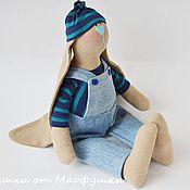 Куклы и игрушки ручной работы. Ярмарка Мастеров - ручная работа Зайка мальчик Винс. Заяц Тильда. Handmade.