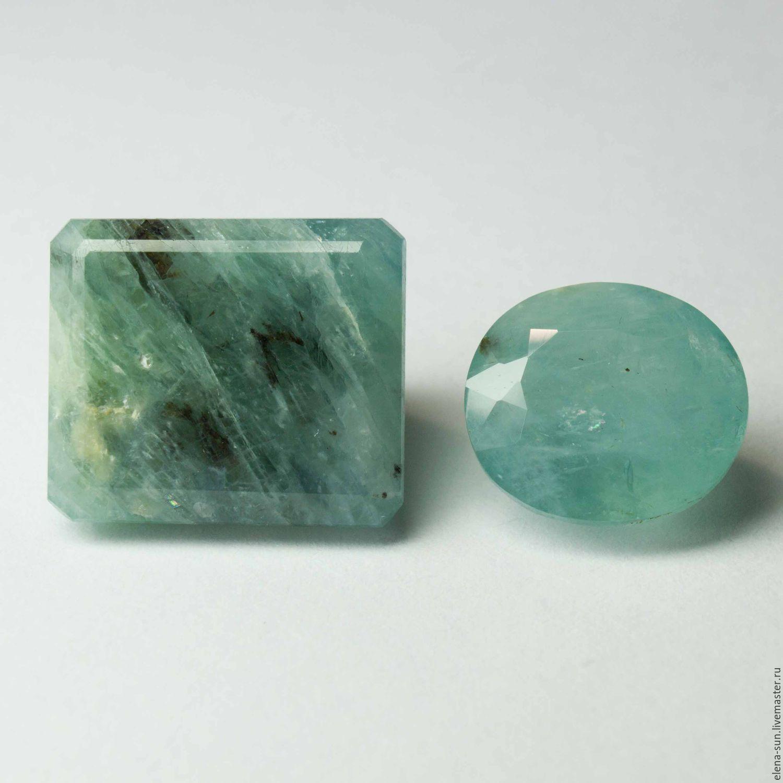 Камень грандидьерит натуральный огранённый