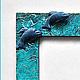 """Фоторамки ручной работы. Фоторамка """"Дельфины"""". Лавка 'Жили-были' Наталья Кучинская. Интернет-магазин Ярмарка Мастеров. Рамка для фотографии"""