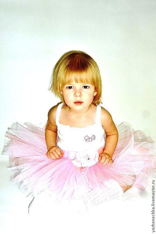 Одежда для девочек, ручной работы. Ярмарка Мастеров - ручная работа. Купить Юбка-пачка или tutu Нежность. Handmade. Розовая