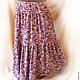 Другой вариант летней юбки ( из штапеля)