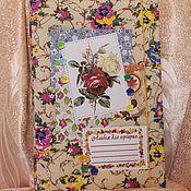 Канцелярские товары handmade. Livemaster - original item Album for a herbarium. Handmade.