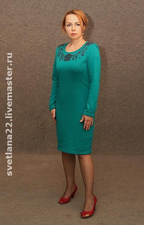 "Dresses handmade. Livemaster - handmade. Buy Knitted dress ""For myself-2"".Knitted dress, dress custom made"