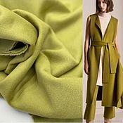 Материалы для творчества handmade. Livemaster - original item Fabric: Coat fabric olive. Handmade.