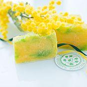 Косметика ручной работы handmade. Livemaster - original item Soap natural Mimosa shy gift of a woman March 8. Handmade.