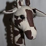 Куклы и пупсы ручной работы. Ярмарка Мастеров - ручная работа Жираф. Авторская интерьерная игрушка на заказ. Handmade.
