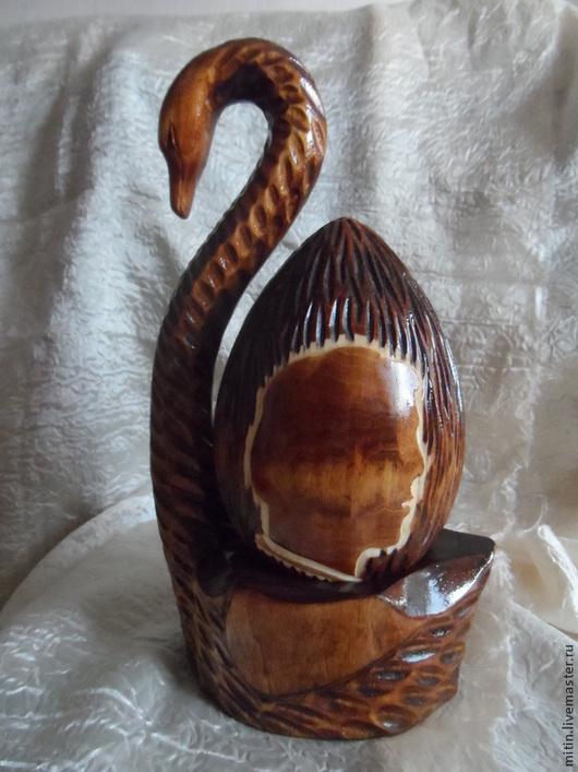 """Яйца ручной работы. Ярмарка Мастеров - ручная работа. Купить Яйцо """"Он и она"""". Handmade. Яйцо, резьба по дереву"""