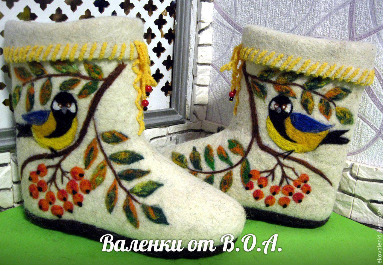88bfef451afc Интернет-магазин · Обувь ручной работы. Заказать Полуваленки. Владимирова  Оксана, валенки, чуни.