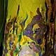 """Верхняя одежда ручной работы. Пальто """"В поисках Ван Гога"""". ElKo (Элла Ковалева). Ярмарка Мастеров. Шерсть"""