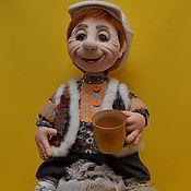 """Куклы и игрушки ручной работы. Ярмарка Мастеров - ручная работа кукла """" Домовой"""". Скульптурный текстиль.. Handmade."""