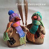 Куклы и игрушки ручной работы. Ярмарка Мастеров - ручная работа Кофейный снеговик. Handmade.