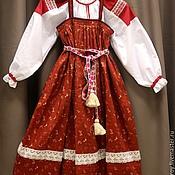 Одежда ручной работы. Ярмарка Мастеров - ручная работа Сарафан и рубаха. Handmade.