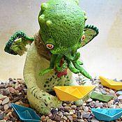 Куклы и игрушки handmade. Livemaster - original item Cthulhu Junior. Handmade.
