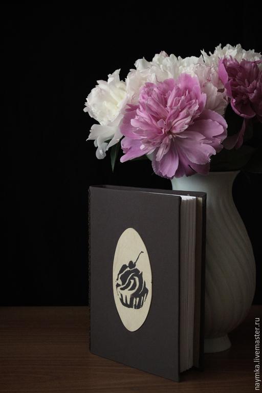 Кулинарные книги ручной работы. Ярмарка Мастеров - ручная работа. Купить Книга для записи рецептов. Handmade. Коричневый, кулинарная книга