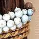 Комплекты украшений ручной работы. Комплект Ближе к небу. sundi-bead украшения из фарфора. Ярмарка Мастеров. Светло-коричневый, фарфор