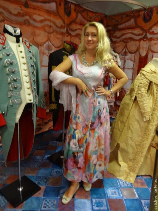 """Платья ручной работы. Ярмарка Мастеров - ручная работа. Купить Платье """"Лето"""". Handmade. Бледно-розовый"""