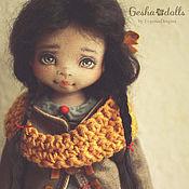 Куклы и игрушки ручной работы. Ярмарка Мастеров - ручная работа Мандаринка. Handmade.