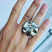 Украшения ручной работы. Ярмарка Мастеров - ручная работа Серебряное кольцо ручной работи. Handmade.