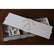 Подарки к праздникам ручной работы. Ярмарка Мастеров - ручная работа Деревянные ёлочные игрушки. Handmade.