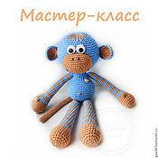 Материалы для творчества handmade. Livemaster - original item Master-class of crochet toy Monkey. Handmade.