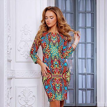 Одежда ручной работы. Ярмарка Мастеров - ручная работа -50% на модель от цены Платье 526. Handmade.