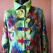 """Одежда ручной работы. Ярмарка Мастеров - ручная работа Жакет """"Калейдоскоп"""". Handmade."""
