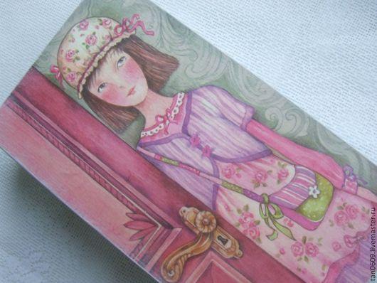 """Детская ручной работы. Ярмарка Мастеров - ручная работа. Купить Пенал """"Розовое настроение"""". Handmade. Розовый, девочка, струк"""