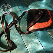 Сумки и аксессуары handmade. Livemaster - original item small women`s handbag cross-body shoulder city. Handmade.