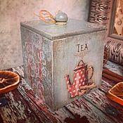 Для дома и интерьера ручной работы. Ярмарка Мастеров - ручная работа Нежный винтаж, короб, декупаж. Handmade.