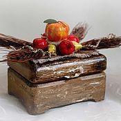 Свадебный салон handmade. Livemaster - original item Jewelry box for rings