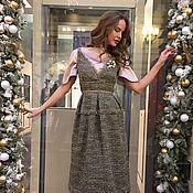 """Одежда ручной работы. Ярмарка Мастеров - ручная работа Платье """"Bronza"""". Handmade."""
