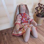 Тильда Зверята ручной работы. Ярмарка Мастеров - ручная работа Зайка Тильда для девочки. Handmade.