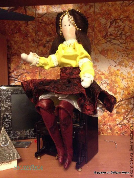 Куклы Тильды ручной работы. Ярмарка Мастеров - ручная работа. Купить Зулейка. Handmade. Желтый, восточный стиль
