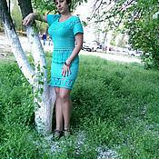 Одежда ручной работы. Ярмарка Мастеров - ручная работа Костюм из хлопка Василек. Handmade.