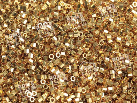 Для украшений ручной работы. Ярмарка Мастеров - ручная работа. Купить DBC-31 MIYUKI Delica (24KT) Gold Plated. Handmade.