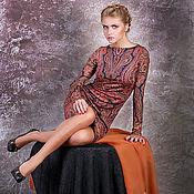 """Одежда ручной работы. Ярмарка Мастеров - ручная работа """"Сладости Востока"""", платье для повседневного ношения. Handmade."""