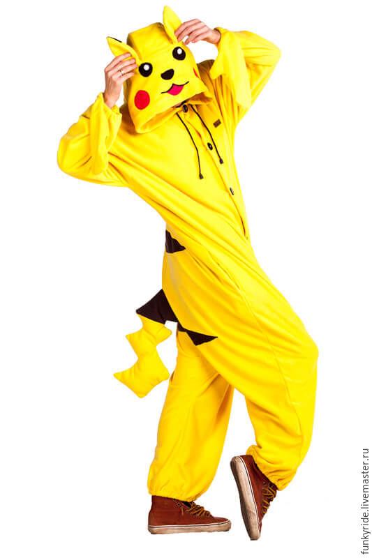 Costume kigurumi Pikachu PIKACHU KIGU, Cosplay costumes, Magnitogorsk,  Фото №1