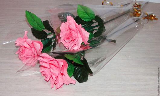 Букеты ручной работы. Ярмарка Мастеров - ручная работа. Купить Вкусная роза. Комплимент, подарок, знак внимания. Handmade. Роза