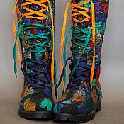 """Обувь ручной работы. Ярмарка Мастеров - ручная работа Сапоги-ботинки"""" Личность"""" повтор. Handmade."""