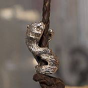 Материалы для творчества handmade. Livemaster - original item Ferret charm var.2. Handmade.