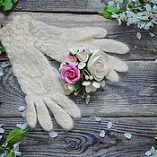 Аксессуары handmade. Livemaster - original item Gloves down