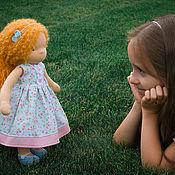 Куклы и игрушки ручной работы. Ярмарка Мастеров - ручная работа Вальдорфская кукла Апельсинка. Handmade.